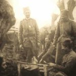 Battle of Kumanovo Blood and Mist Soldiers stading
